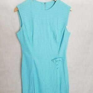 Women's 1960s Light Blue, Sleeveless Dress